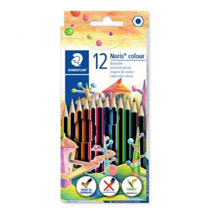 STAEDTLER Noris® colour 185 Coloured Pencils - 12 Pack